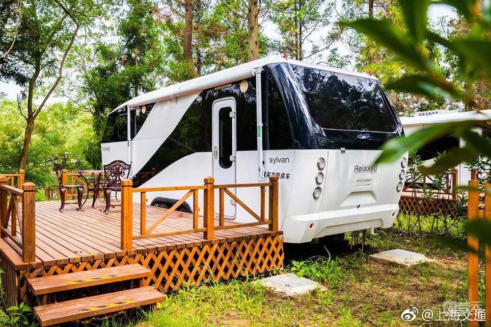 上海东平国家森林公园房车营地将新添亲子家庭房